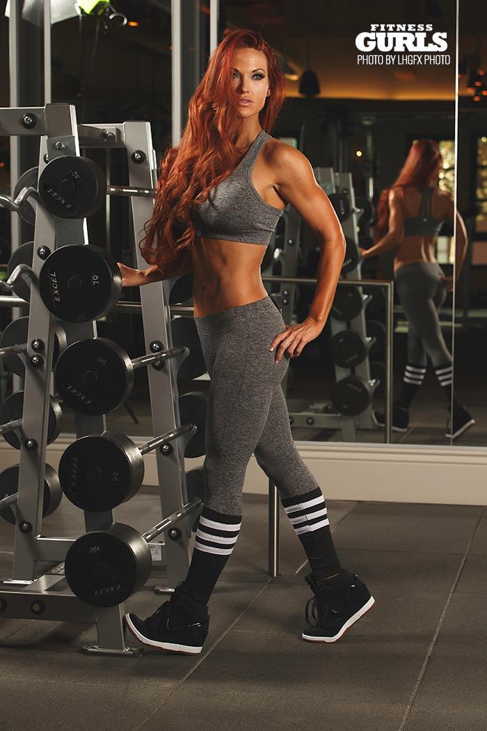 Workout Calendar For Gym : Keli park fitness gurls magazine