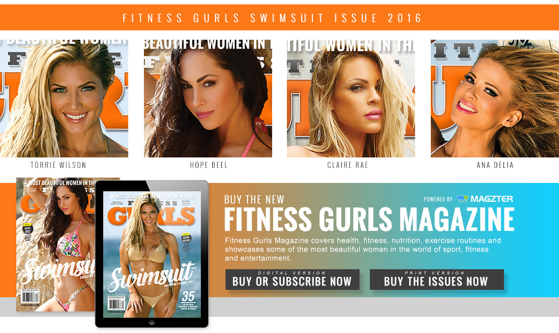 Fitness Gurls Swimsuit Issue - Torrie Wilson, Hope Beel, Claire Rae, Ana Delia