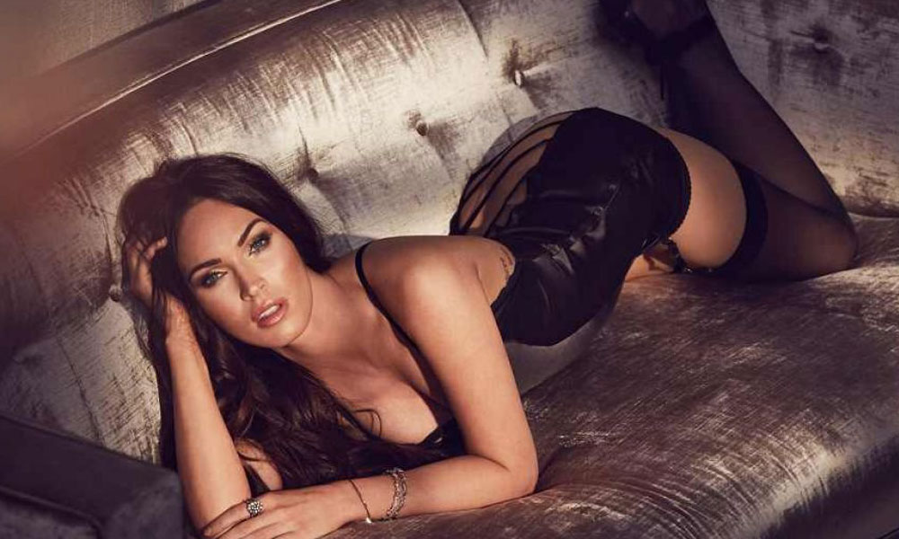 bb9022768c Megan Fox is Back with More Lingerie Photos with Frederick s of Hollywood