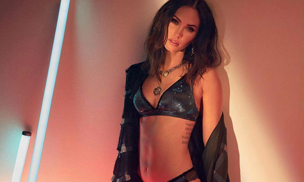 9711c2b3cd Megan Fox is Straight Fire in Frederick s of Hollywood Fall Collection 2018