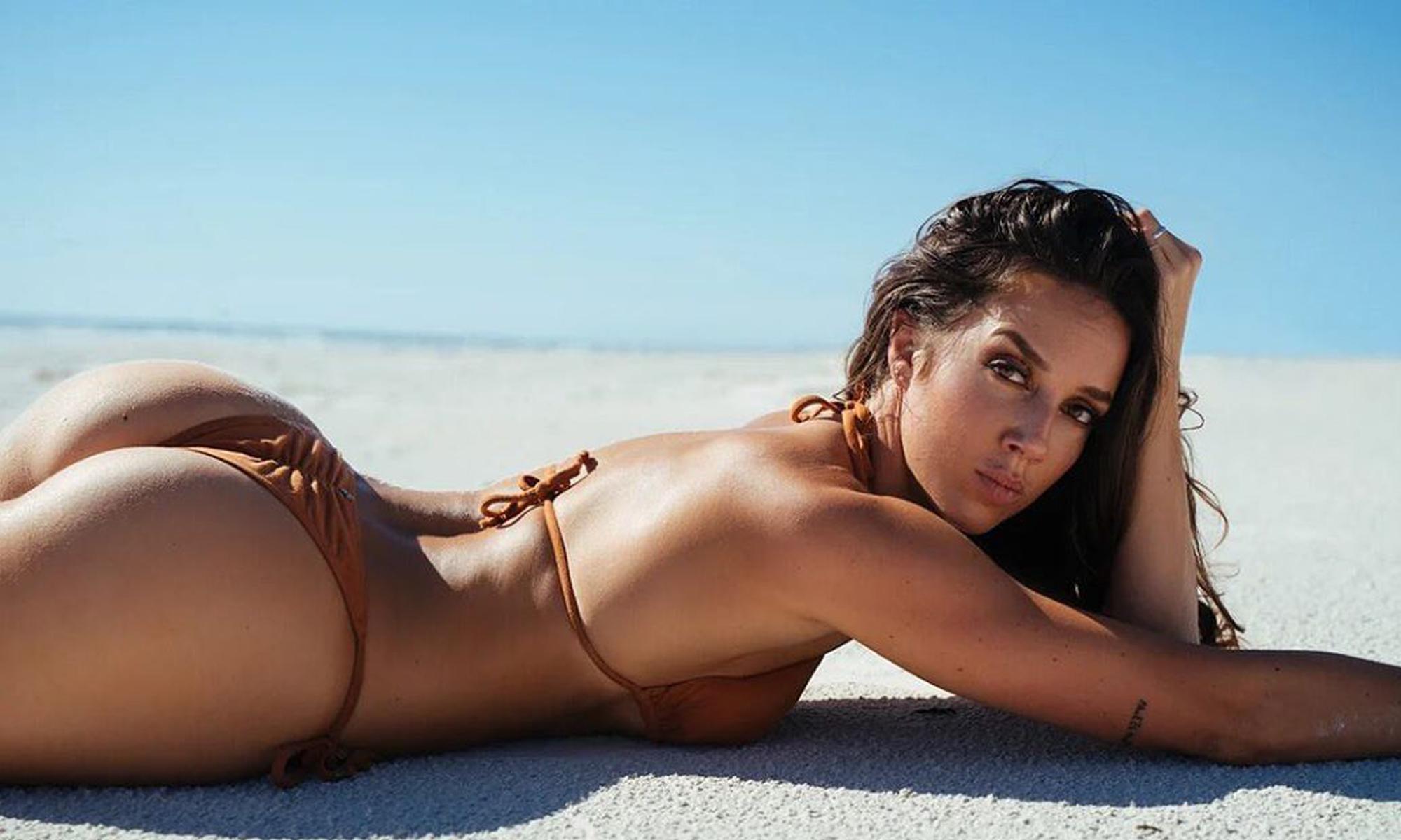 Chelsea Green Bikini